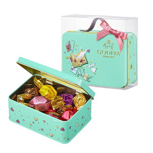 バレンタイン チョコレート 2020 ゴディバ(GODIVA)G キューブ アソートメント トランク缶 10粒