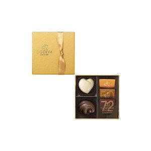 ホワイトデー チョコレート 2020 ゴディバ(GODIVA)ゴールド コレクション 5粒入