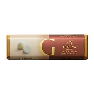 スイーツ 中元 プレゼント ギフト お返し お祝い チョコレート ゴディバ (GODIVA) ゴディバ バー ミルクマカダミア