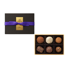 ホワイトデー White Day プレゼント ギフト お返し お祝い チョコレート スイーツ ゴディバ(GODIVA)レジェンデール トリュフ(6粒入)