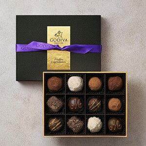 スイーツ プレゼント ギフト お返し お祝い チョコレート ゴディバ(GODIVA)レジェンデール トリュフ(12粒入)