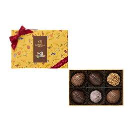 ギフト お返し お祝い チョコレート スイーツ ゴディバ(GODIVA)ハッピー オータム アソートメント(6粒入)
