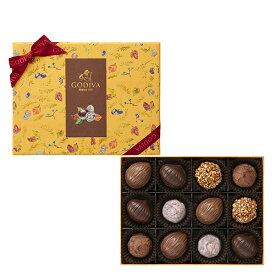 ギフト お返し お祝い チョコレート スイーツ ゴディバ(GODIVA)ハッピー オータム アソートメント(12粒入)