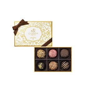 スイーツ 中元 プレゼント ギフト お返し お祝い チョコレート ゴディバ(GODIVA)季節のトリュフ-春夏-(6粒入)