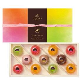 スイーツ 中元 プレゼント ギフト お返し お祝い チョコレート ゴディバ(GODIVA)ムースショコラ エ カカオフルーツジュレ (11個入)