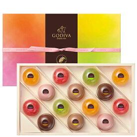 スイーツ 中元 プレゼント ギフト お返し お祝い チョコレート ゴディバ(GODIVA)ムースショコラ エ カカオフルーツジュレ (14個入)