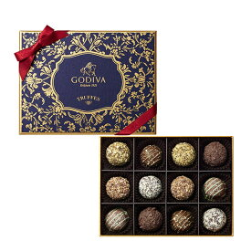 スイーツ プレゼント ギフト お返し お祝い チョコレート ゴディバ (GODIVA) 季節のトリュフ-秋冬-(12粒入)