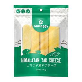 GoDoggy ヒマラヤ産ヤクチーズスティック (M) - 4本入り280g 自然食品 犬 おやつヒマラヤチーズスナック