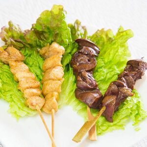 鶏肉 ぼんじり串 鶏レバー串セット 50本 各25本 冷凍 焼き鳥
