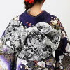 """Coming and going"" rental long-sleeved kimono full set -588 | Long-sleeved kimono long-sleeved kimono rental kimono set rental kimono long undergarment wedding ceremony graduation ceremony back bag sandals back set dressing accessory obi cord obi bustle"