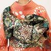 """Round trip"" rented long-sleeved kimono full set-008 | kimono rental long-sleeved dress set furisode rental kimono rental women's fine kimono rental costumes dive. rental costumes wedding ""fy16REN07"""