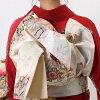 """Coming and going"" rental long-sleeved kimono full set -855"