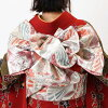 """Coming and going"" rental long-sleeved kimono full set -874"
