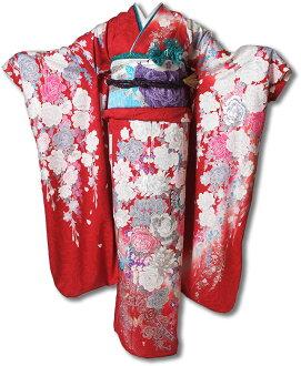 """Round trip"" rented long-sleeved dress set-685"