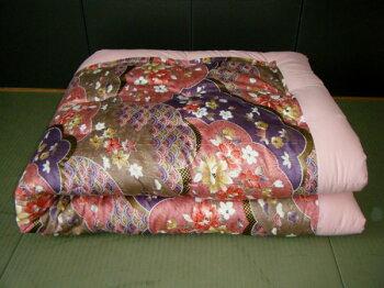 木綿わた手作り掛け布団シングルサイズご注文をいただいてから手作りでお仕立ていたします。発送まで1週間から10日前後お日にちを頂きます。掛けふとん掛けフトン綿布団木綿布団木綿掛け布団掛け布団綿純綿掛け布団シングル