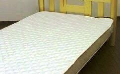 高密度生地でダニの侵入を完全ブロック!アレルガードウォッシャブル防ダニベッドパッドダブル140×200cm高密度織り生地を使用。洗っても防ダニ効果は変わりません!また埃の原因となる繊維くずの発生を抑える特殊な中わたを使用!