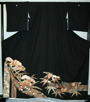 【貸衣裳】rt201:松に竹に菊レンタル留袖【貸衣装】