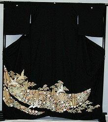 【貸衣裳】rt212:鶴に宝づくしレンタル留袖【貸衣装】