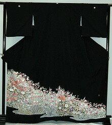 【貸衣裳】rt221オシドリに梅の花レンタル留袖【貸衣装】