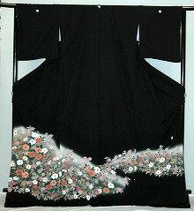 【貸衣裳】rt228:加賀調花柄レンタル留袖【貸衣装】