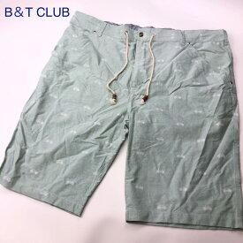 B&T CLUB ビーアンドティー クラブ 大きいサイズ ハーフパンツ 1563