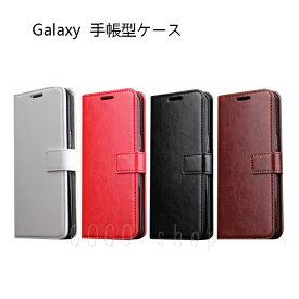 GalaxyS8 GalaxyS8+ 手帳型ケース スタンド機能 カード入れ ギャラクシーS8+ ストラップ穴 ポケット付 ビジネス プレゼント S8 S8+ S8プラス 無地 SC-02J SCV36 SC-03J SCV35 男性用 女性用 プレゼント スマホカバー ギフト あす楽対応 送料無料