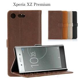 428c9059f6 XperiaXZPremium 手帳型ケース エクスペリア XZ Premium XZプレミアム 手帳型 スマホケース 手帳型カバー スタンド
