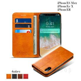 iPhone XS Maxケース iPhone XR iPhone XS ケース 手帳型 iPhoneXSMax iPhoneXR レザーケース カードポケット スタンド機能 ブラック ブラウン キャメル レッド アイフォンテン おしゃれ カッコいい ビジネス スマホカバー ギフト プレゼント あす楽対応 送料無料