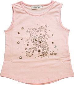 【新品】 【BABY DIOR】 ベビーディオール ノースリーブTシャツ スパンコール サイズ10A ブランド子供服 090703