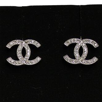 可可香奈儿耳环标记银钻 A42175 Y02003 Z2371