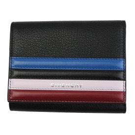 ジバンシー 財布 レディース BB6007B06F GIVENCHY 三つ折り財布 レザー ブラック BB6007B06F 001