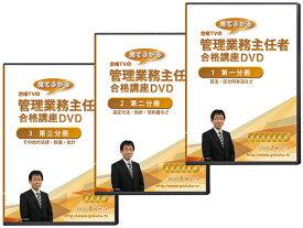 2021年(令和3年)管理業務主任者・マンション管理士合格講座DVD(全科目) DVD18枚セット テキスト付き(PDF)