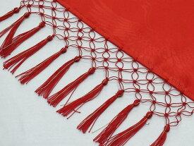 七五三【子供しごき】七宝房:はっきりした赤色「日本製」