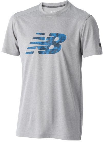 ニューバランス ショートスリーブヘザーテックグラフィックTシャツ ATK:ATK