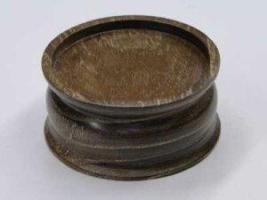 ブッキ台(ご飯の入れ物の台)/桑 扁平丸型
