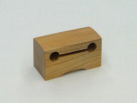 木鉦(もくしょう)欅製、枕木鉦3寸-RYH-2