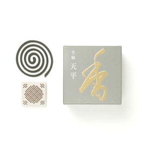 【線香 お香 香水線香】松栄堂 天平 渦巻きタイプ