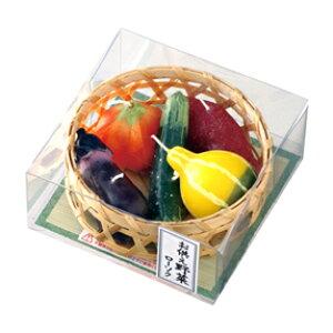 【カメヤマローソク】【故人の好物シリーズ】【ロウソク】【ギフト】【贈答用】お供え野菜ローソク