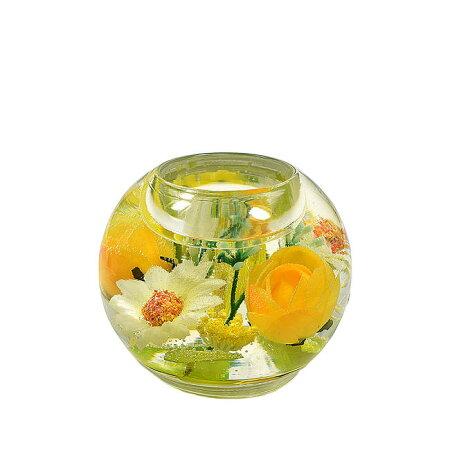 【ローソク】ドリームライトスプリングフラワー(マーキュリー型)※カップのローソク★ガラスのキャンドルホルダーローソクろうそくロウソクキャンドルドリームライト御供ローソクルームキャンドル