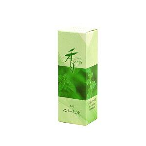 【お香】Xiang Do 〜シァン ドゥ〜◆ ペパーミント ◆(スティックタイプ 20本入り)京都・松栄堂製室内香 お香 松栄堂 リラックスお香 ミントの香り ハーブの香り ハッカの香り ハッカ ミン