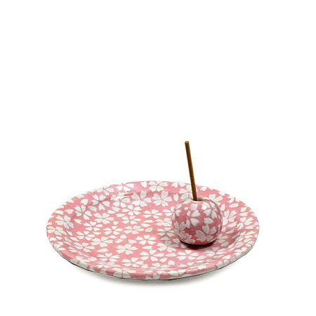 【お香立て・香皿セット】「花桜」お香立て香立てお部屋のお香立て香道さくら桜サクラ