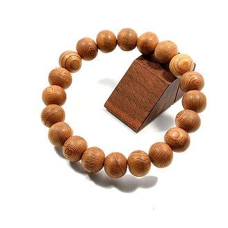 Yakusugi bracelet (10 mm beads)