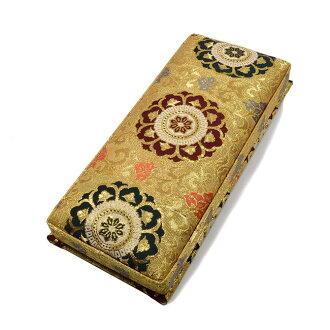 금란 염주 넣어 상자 금빛계 길이 27.5 cm대사이즈