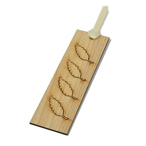 【木製しおり】吹き寄せしおり 欅(けやき)日本製しおり 木のしおり 木製しおり 書籍 ブックマーカー 栞