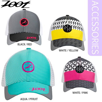 Zoot (Zoot) TECH TRUCKER CAP Tracker running Cap | jogging fun colorful Tracker type the run Cap.