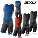 2XU メンズ Perform Rear Zip Trisuit(パフォームリアジップトライスーツ)後開タイプ トライアスロン用スーツ