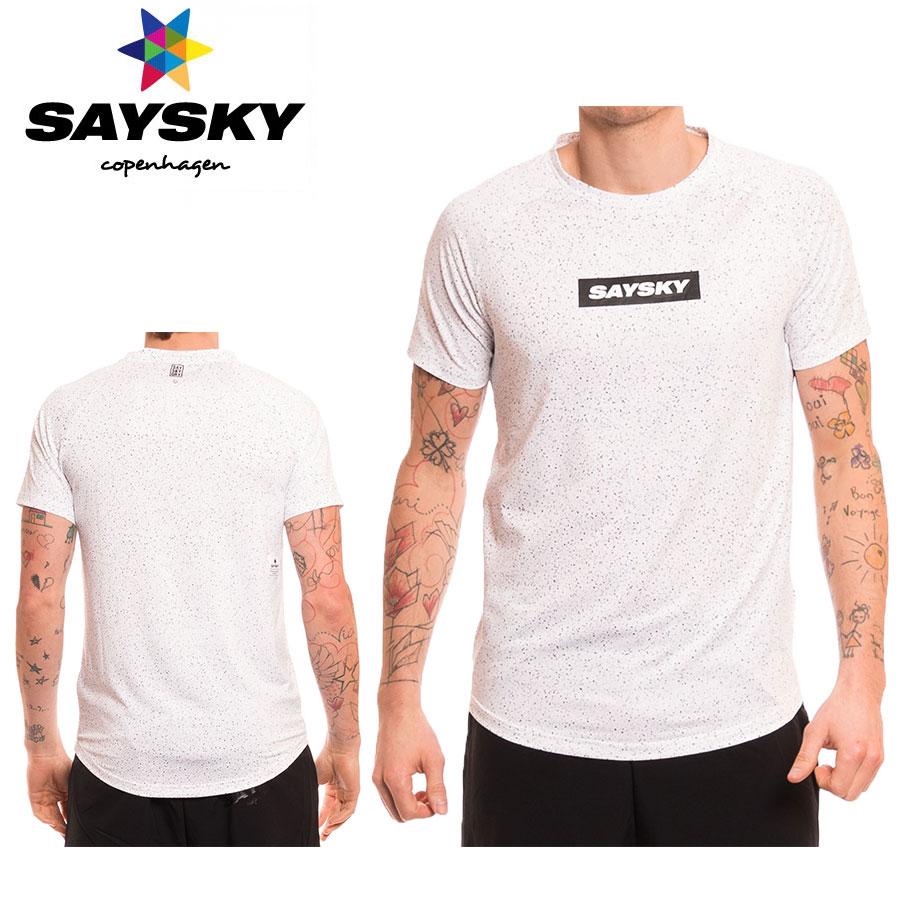 SAYSKY(セイスカイ) ユニバース Tシャツ(ランニング半袖シャツ)