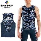 【メーカー在庫商品】SAYSKY(セイスカイ)コンバットTRIトップ(トライアスロン用半袖シャツ)