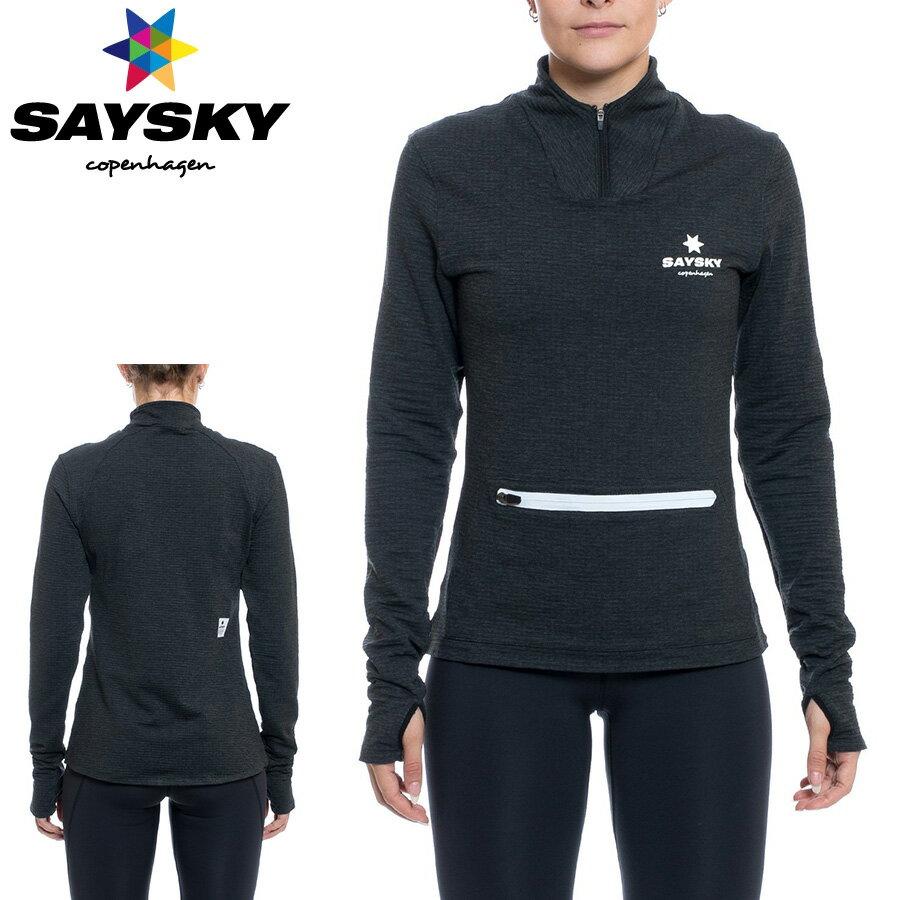 SAYSKY(セイスカイ) レディース アークティック ハーフジップ(ランニングジャケット)