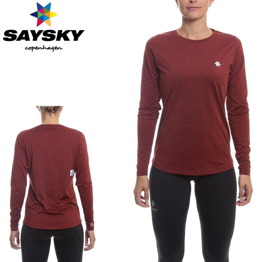 SAYSKY(セイスカイ) レディース マジック 長袖Tシャツ(ロングスリーブシャツ)